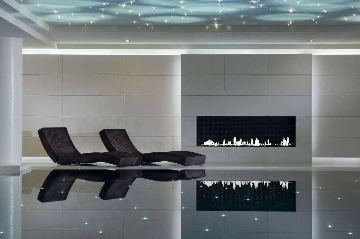 Pool at Ritz Carlton, Moscow