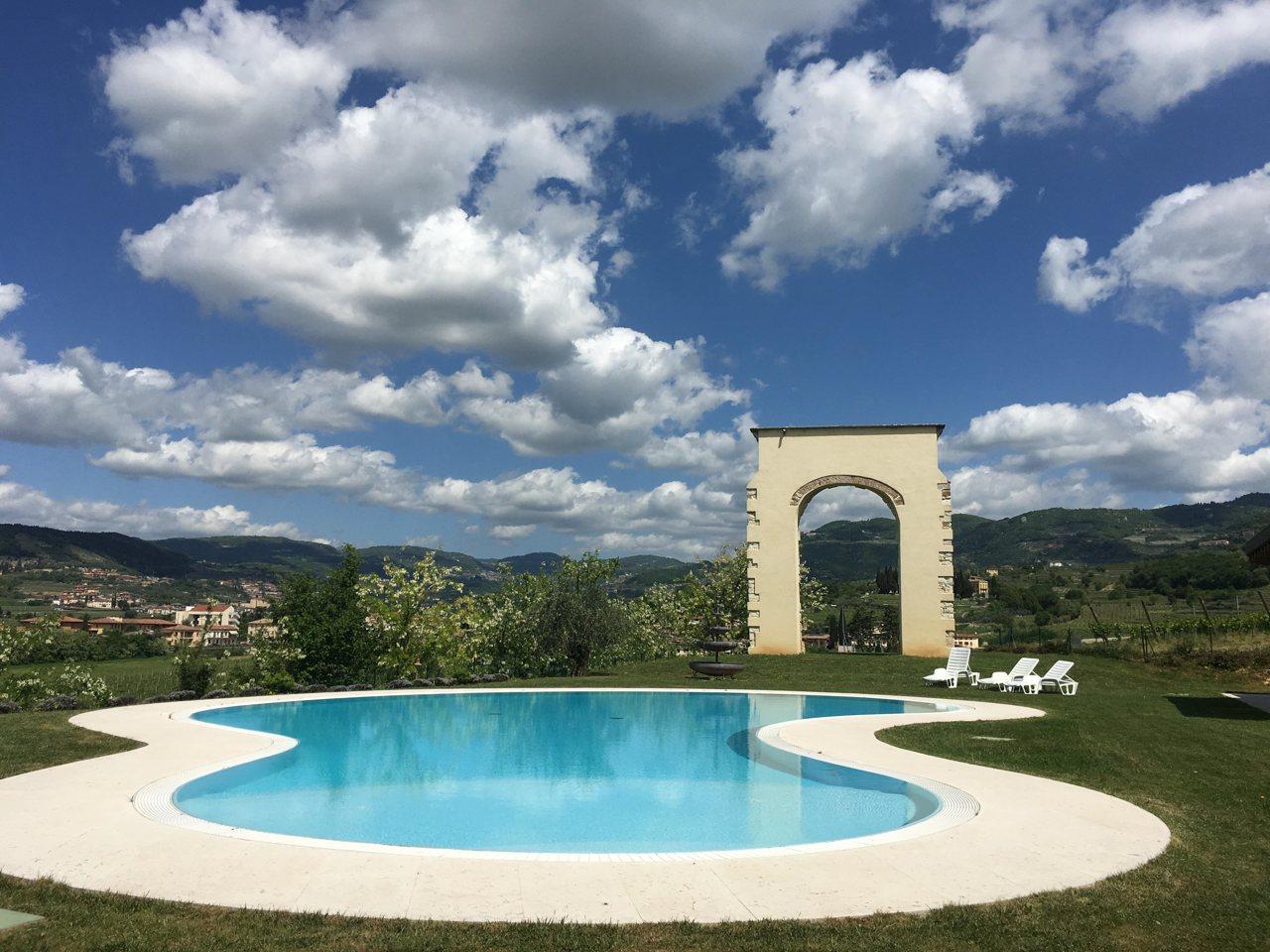 Pool at La Fonte Degli Dei
