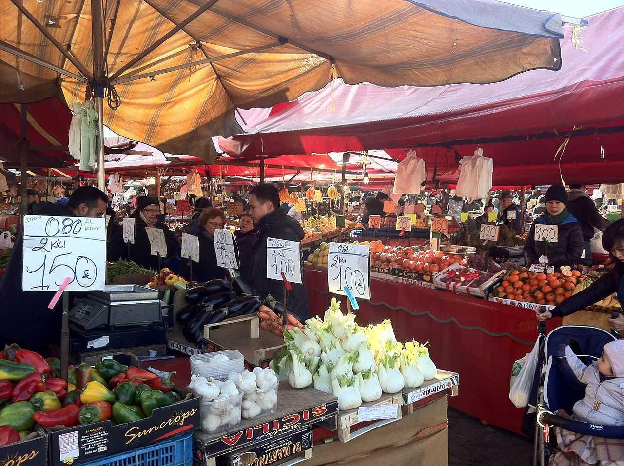 Porta Palazzo Market, Turin