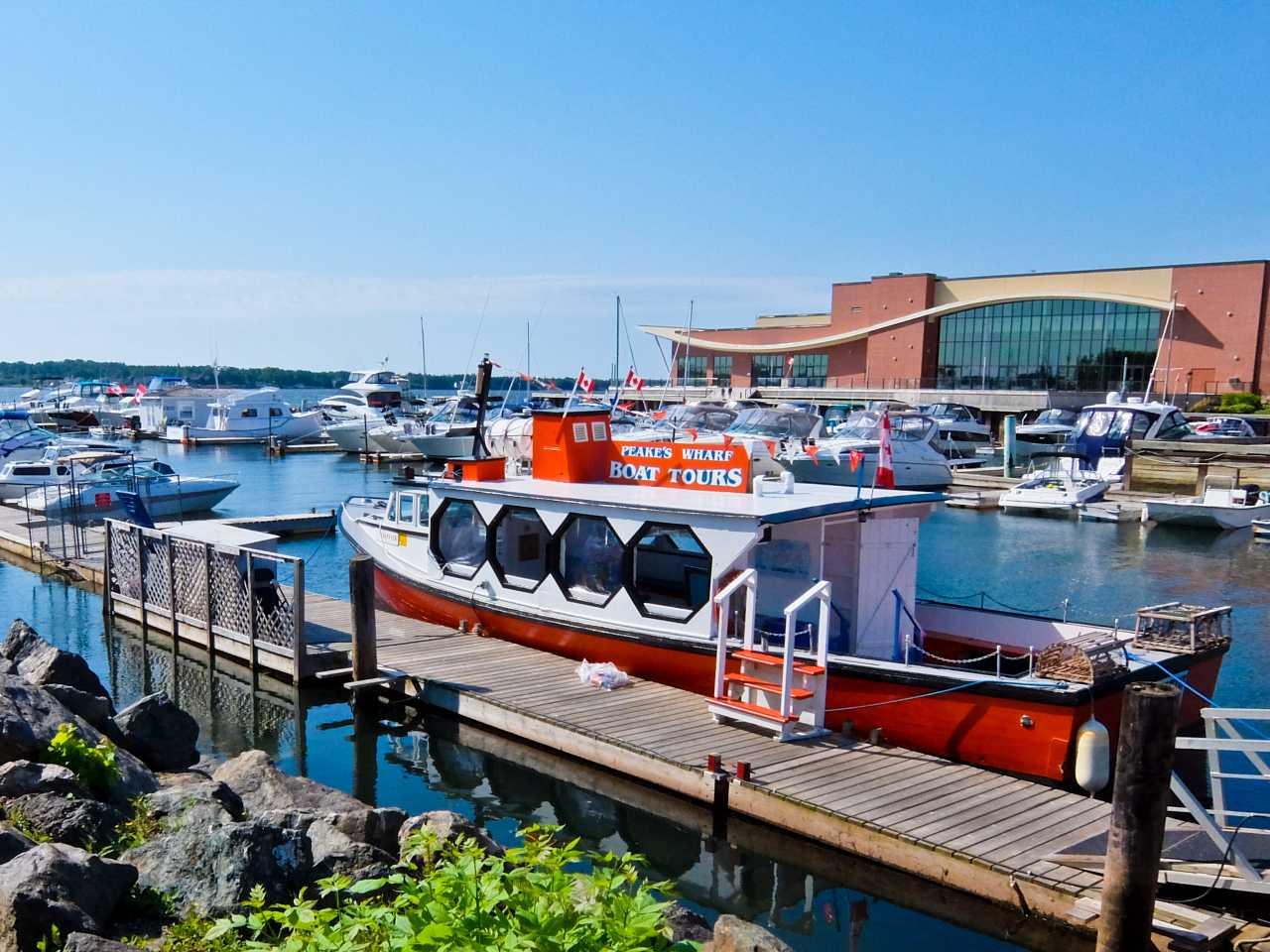 Peaks Wharf, Charlottetown, Prince Edward Island