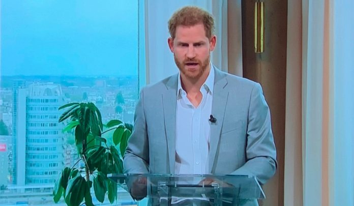Prince Harry - sustainable travel