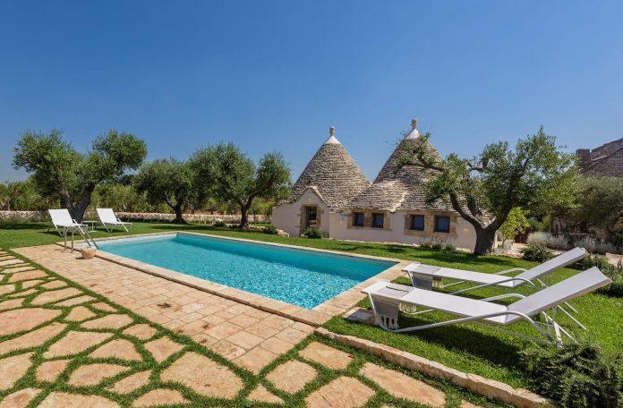 Puglia Paradise - Trullo Atena - luxury villa garden private pool