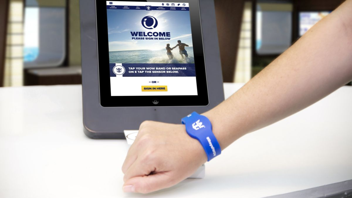 Quantum of the Seas - wristband
