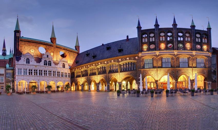 Town hall, Lübeck