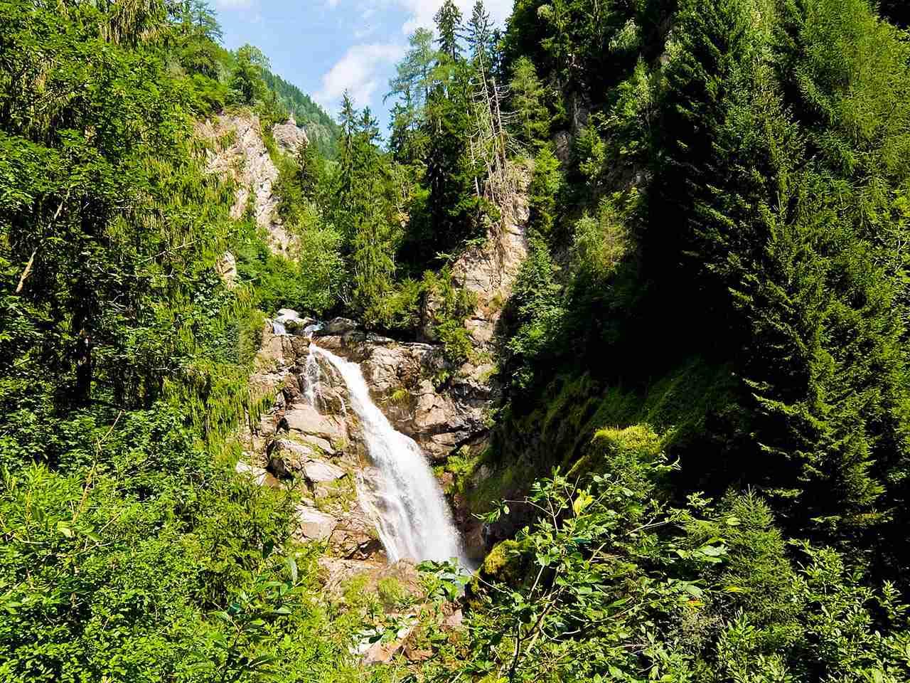 Rabischschlucht Gorge Waterfall, Austria