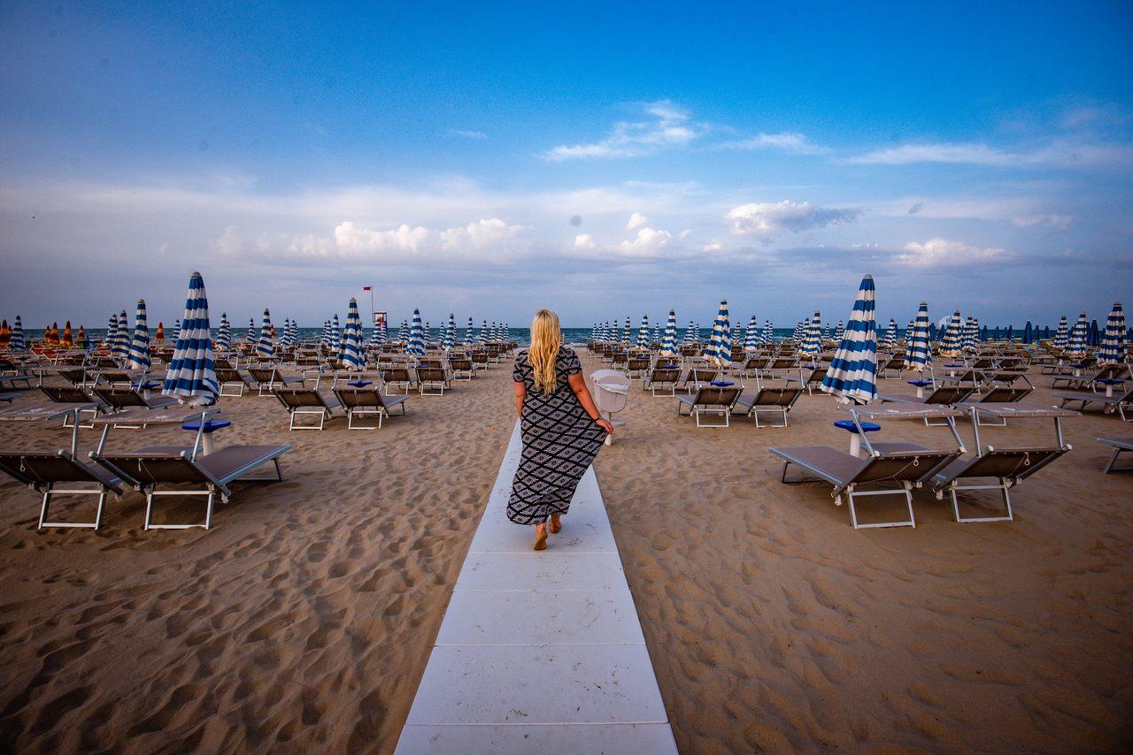 Beach in Ravenna