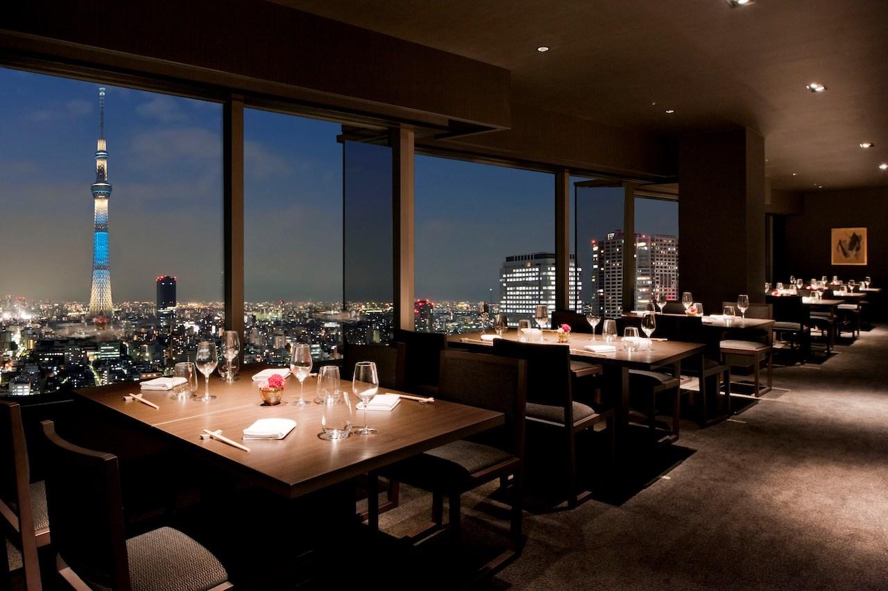 Skytree View Restaurant & Bar Ren, Tobu Hotel Levant Tokyo, Japan