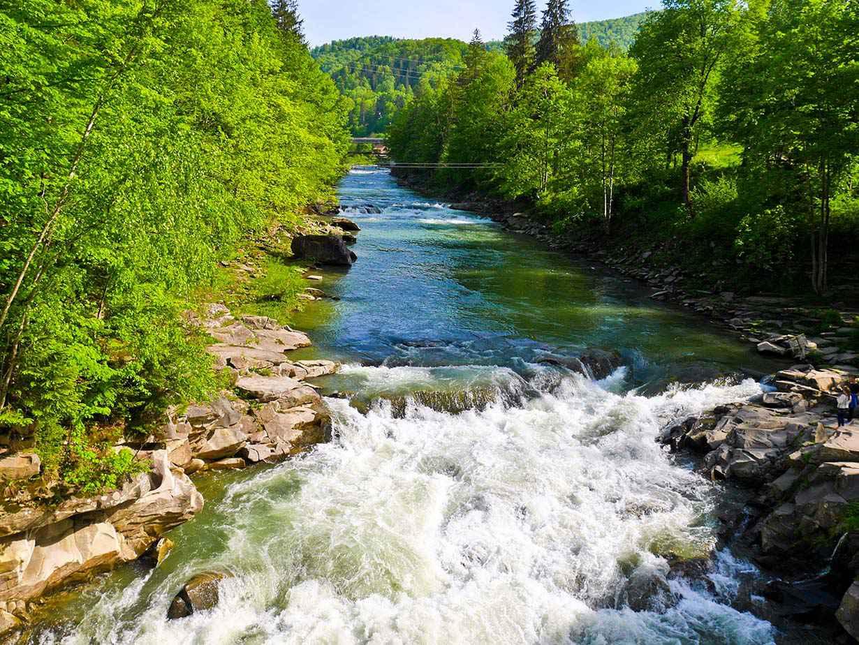 River Prut Yaremche
