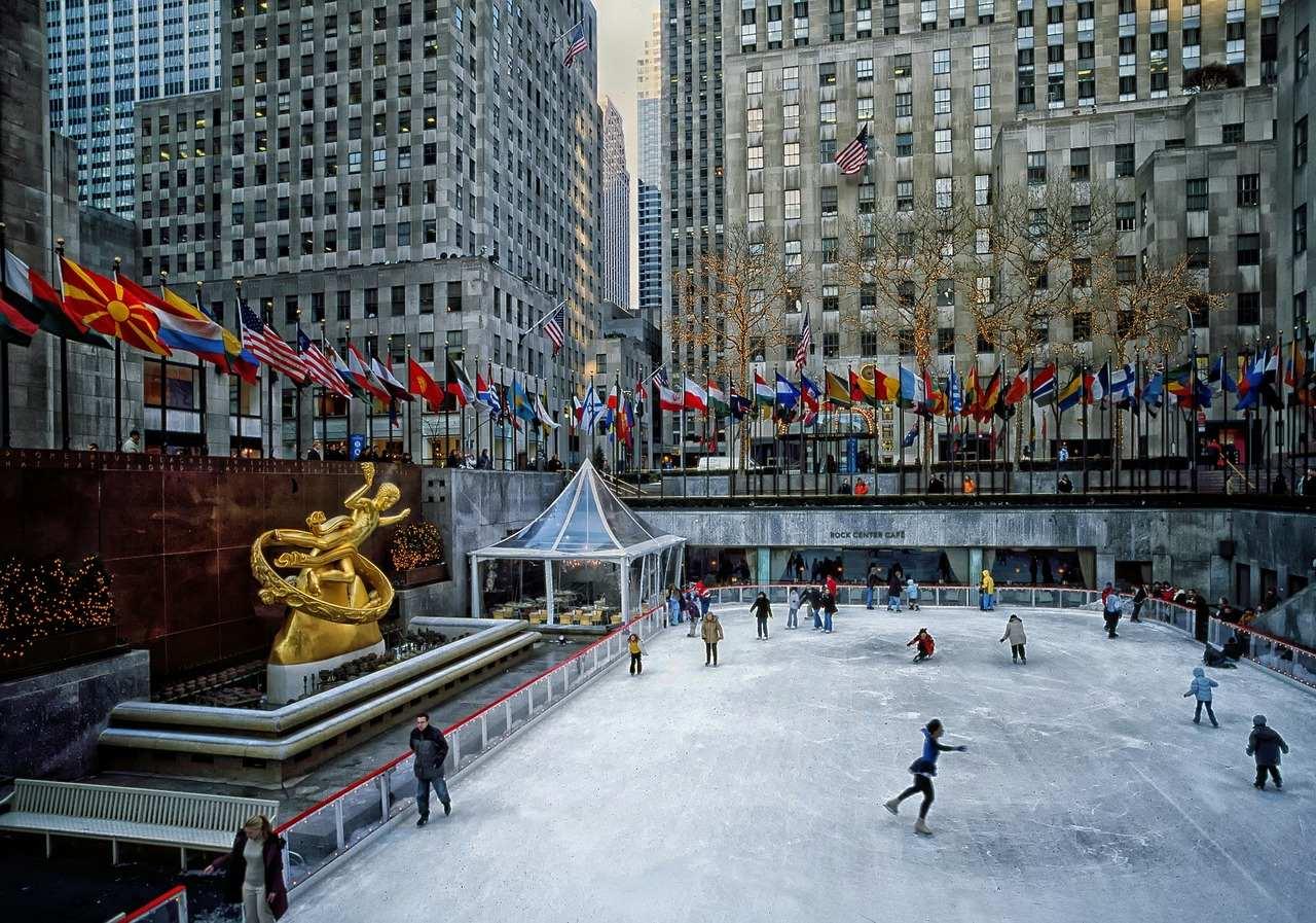 Rockefeller Plaza Ice Rink