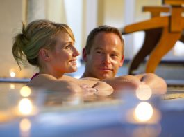 Romance in the spa at Ashdown Park Hotel
