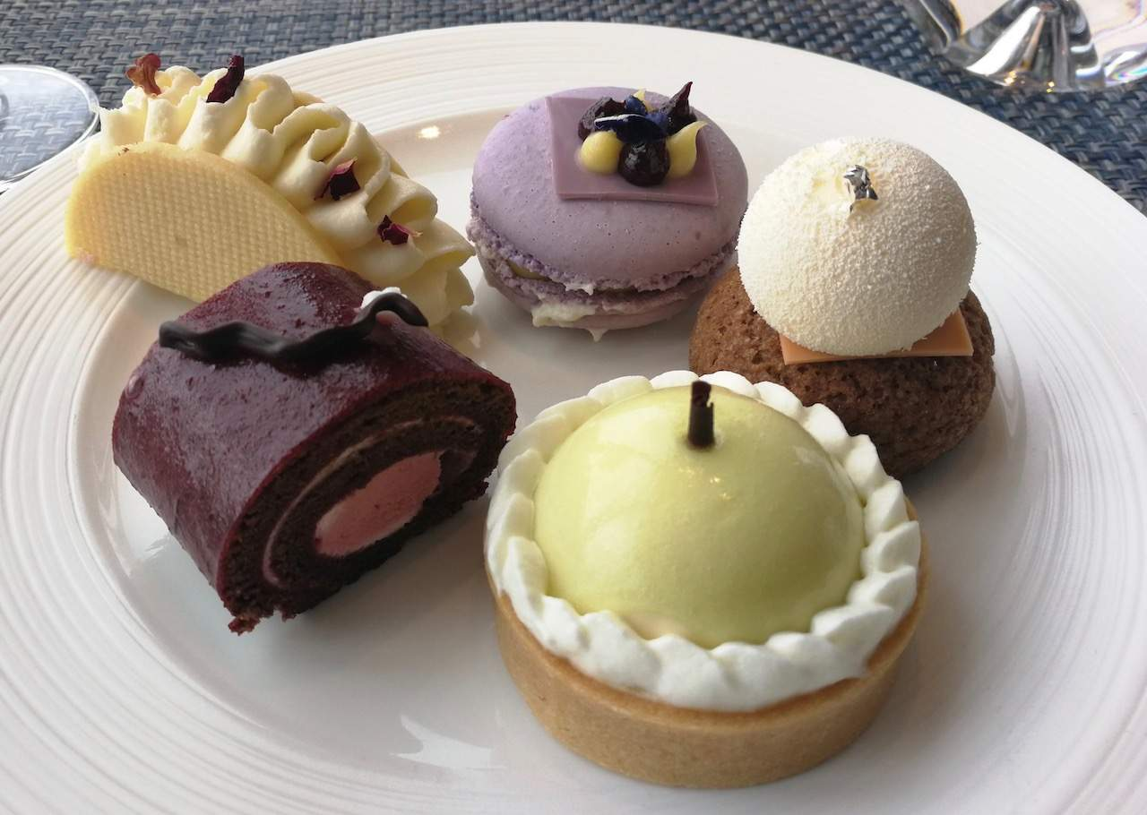 Royal Botanical Afternoon Tea sweet treats