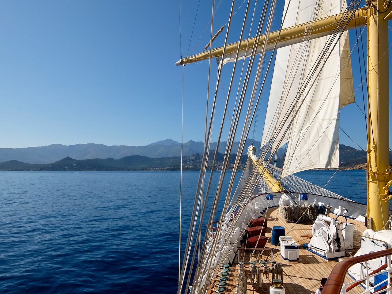 Royal Clipper Prow