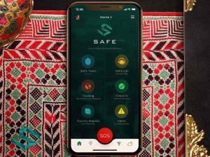 SAFE App interface