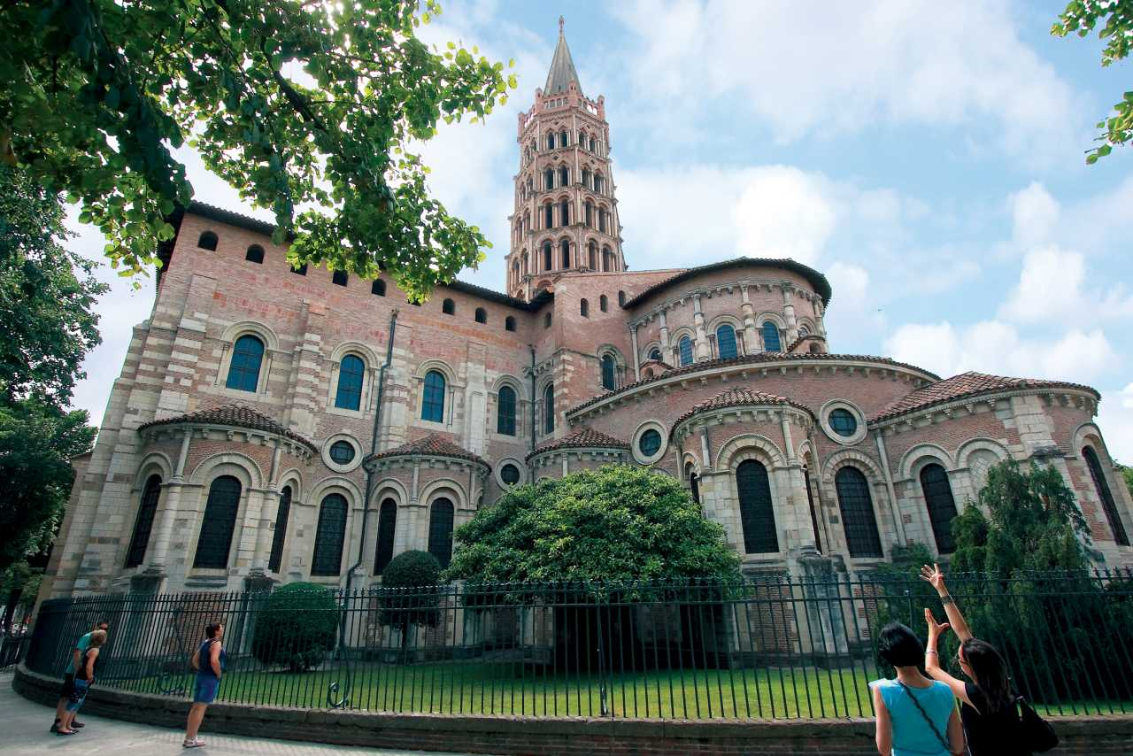 Saint Sernin Basilica Toulouse