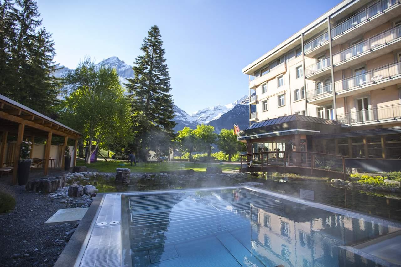 Salt water jacuzzi Hotel Belvedere