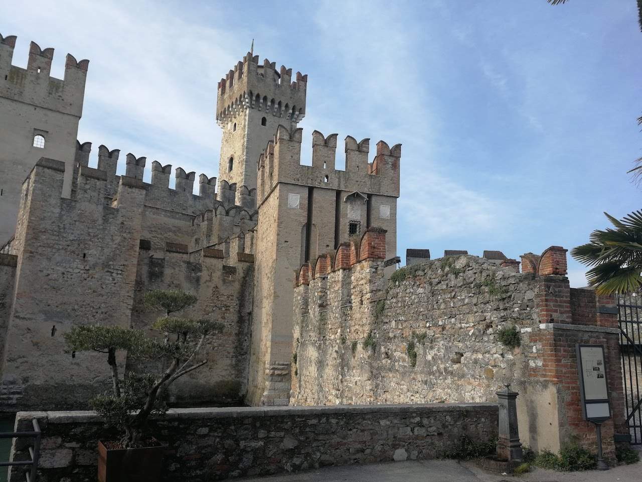 Scaliger castle in Sirmione