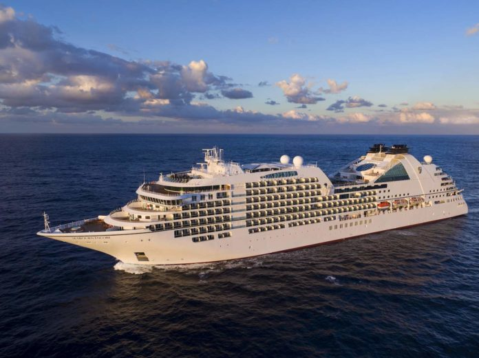 Seabourn Encore - aerial view