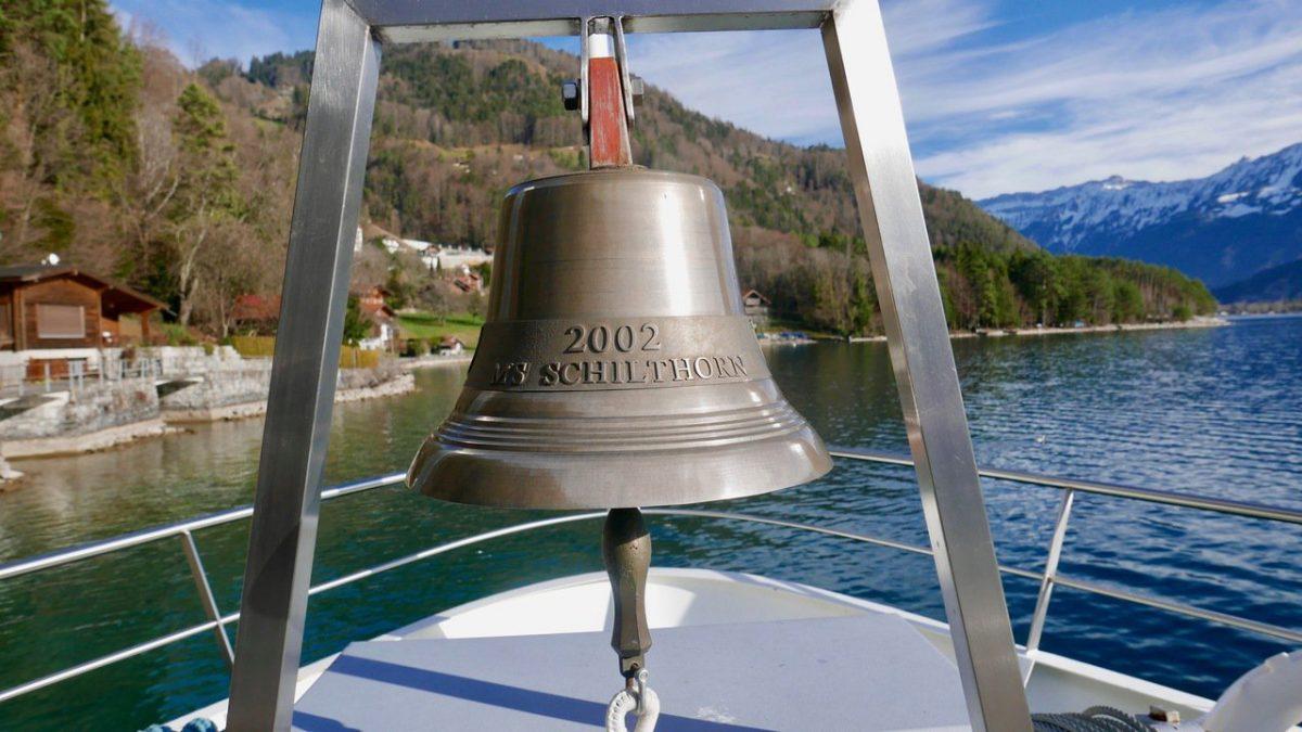 Ship's bell Lake Thun