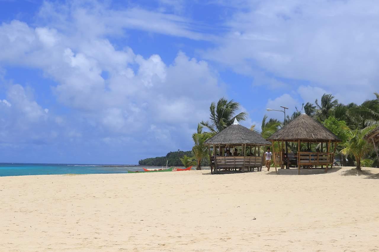 Siargao beach huts