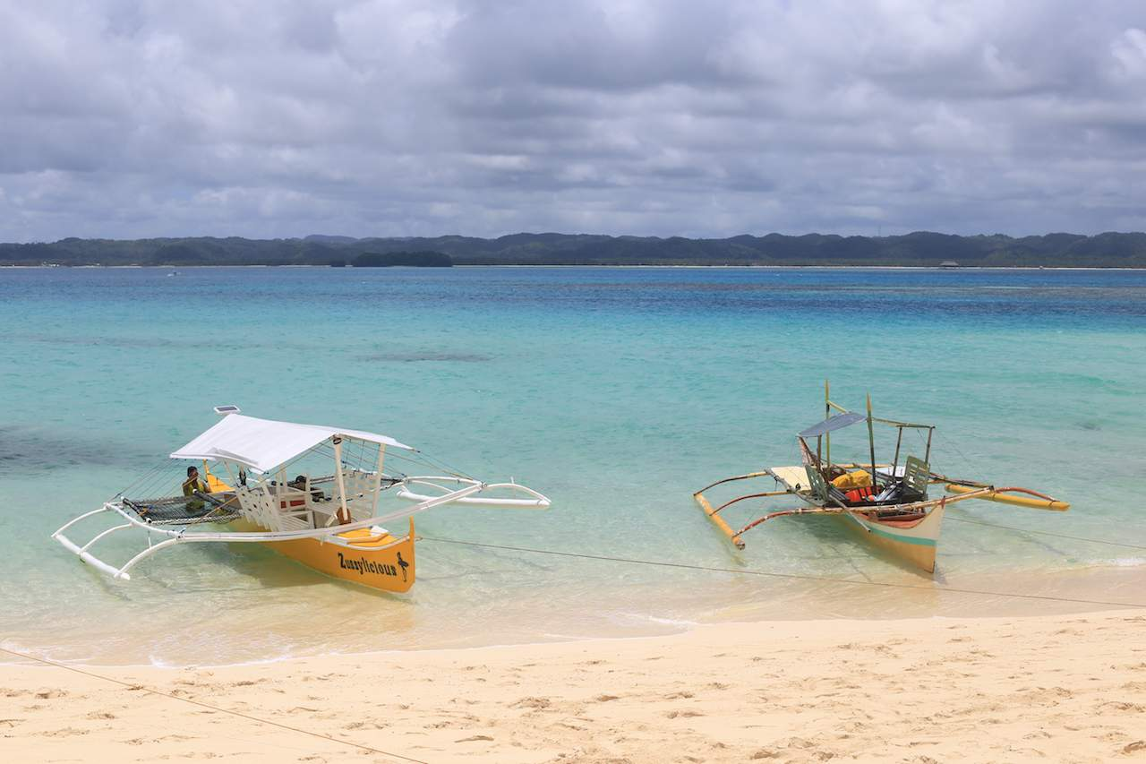Siargao boats