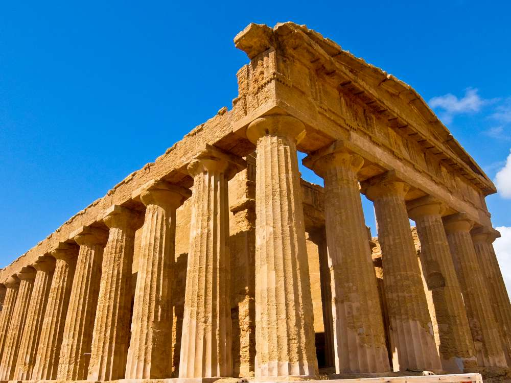 Agrigento Temple, Sicily, Italy