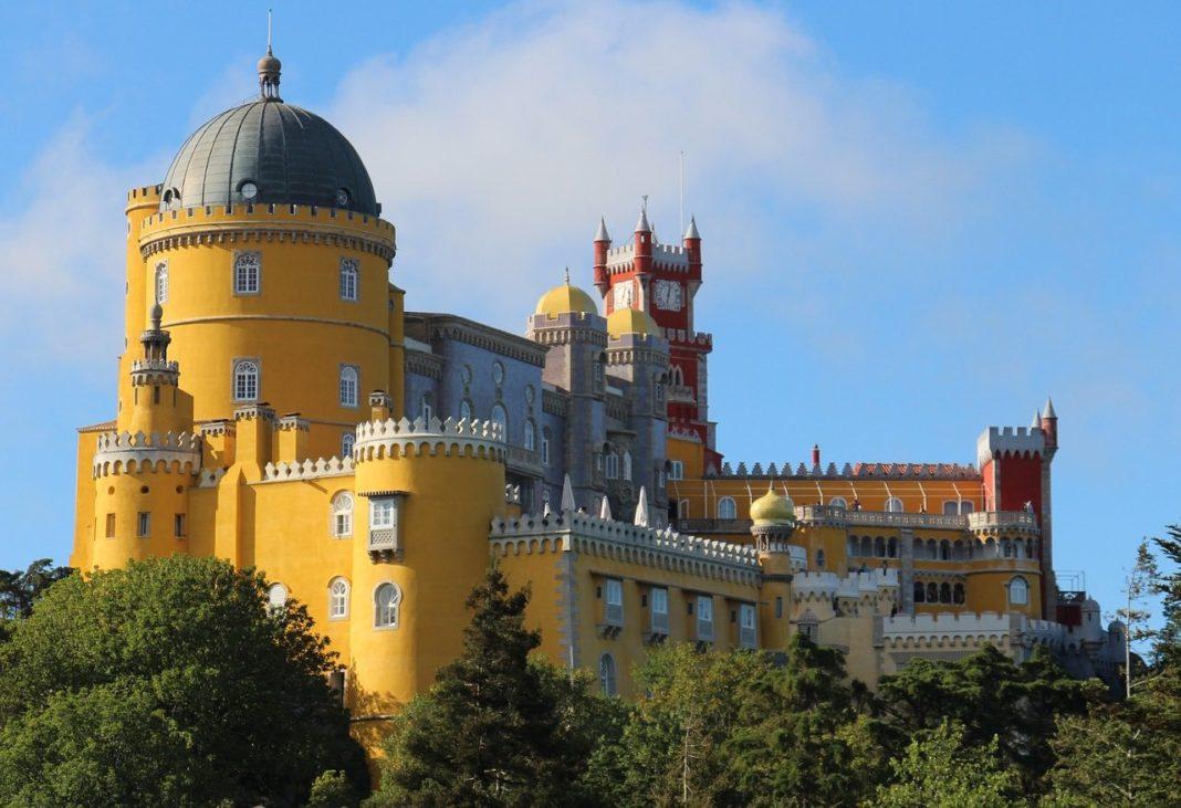 Sintra Palace, Lisbon, Portugal