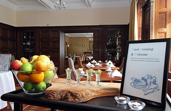 Skeabost Hotel breakfast