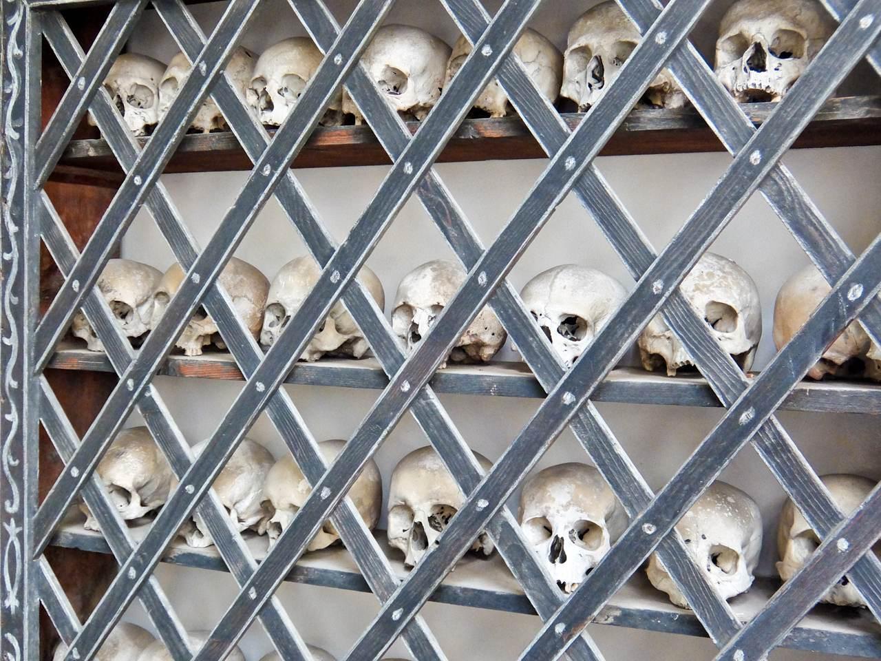 Skulls in Poschiavo