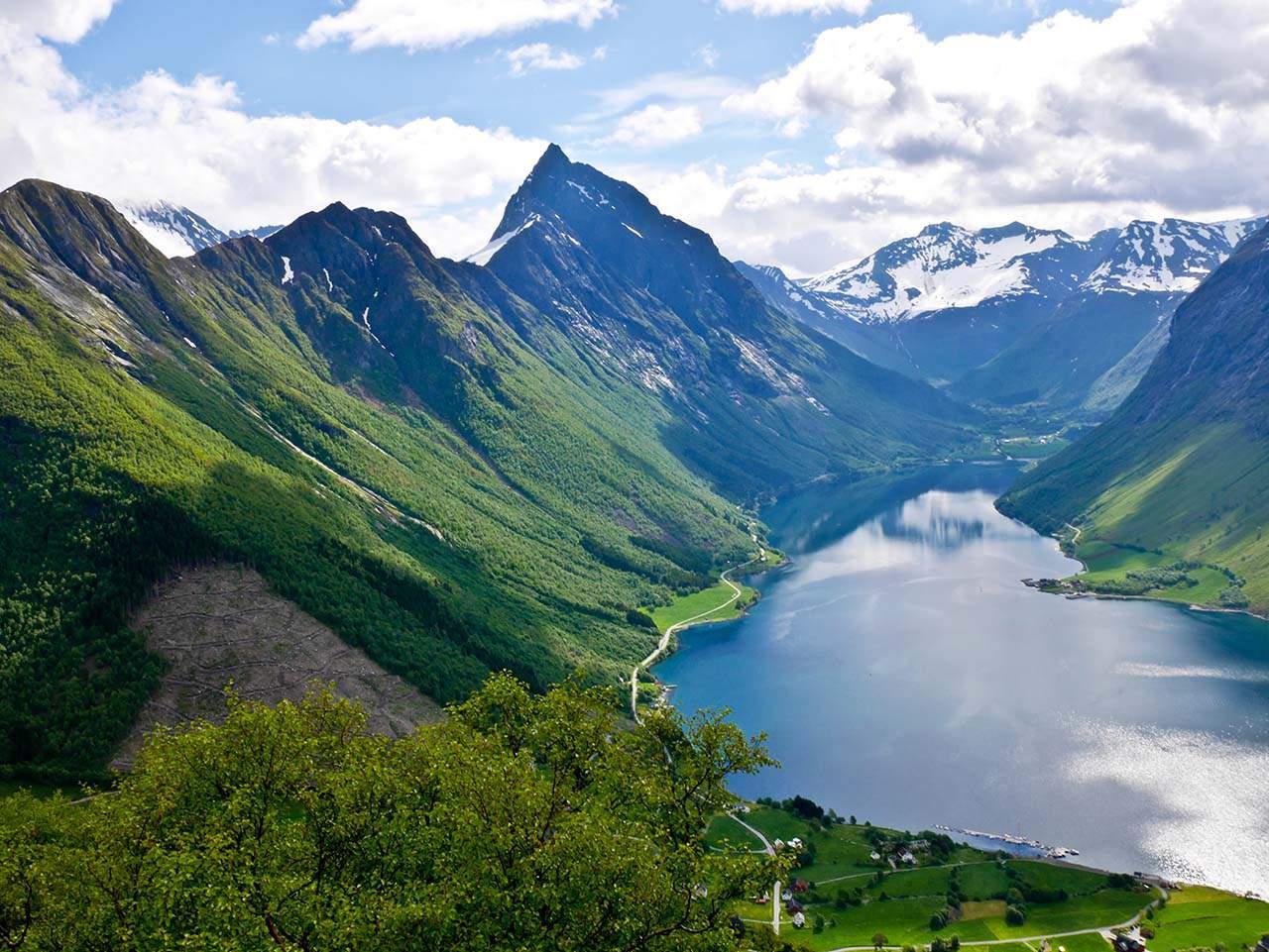 Slogen and Norangsfjord