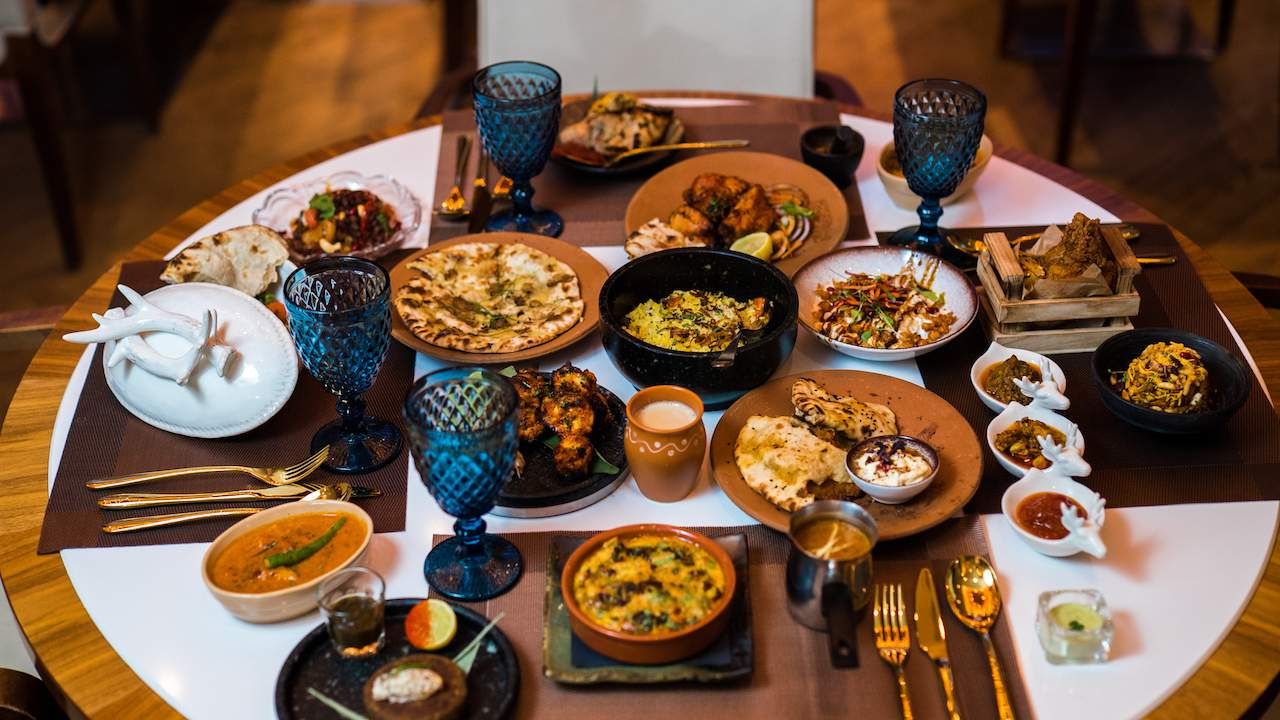 Small plates at Hankies Marble Arch