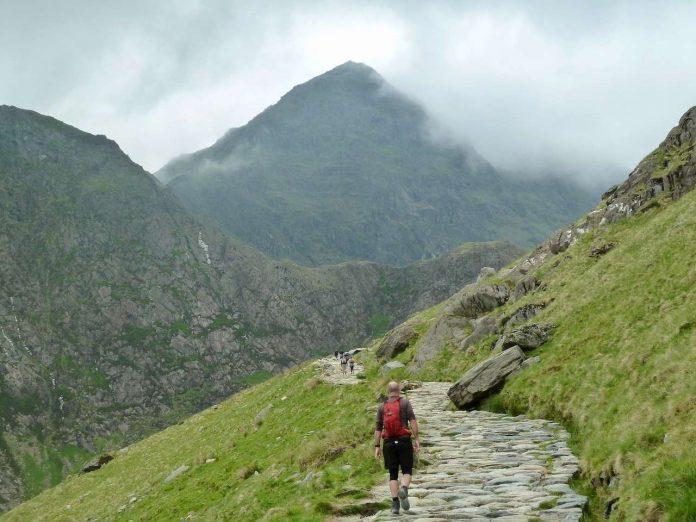 Trekking in Snowdonia