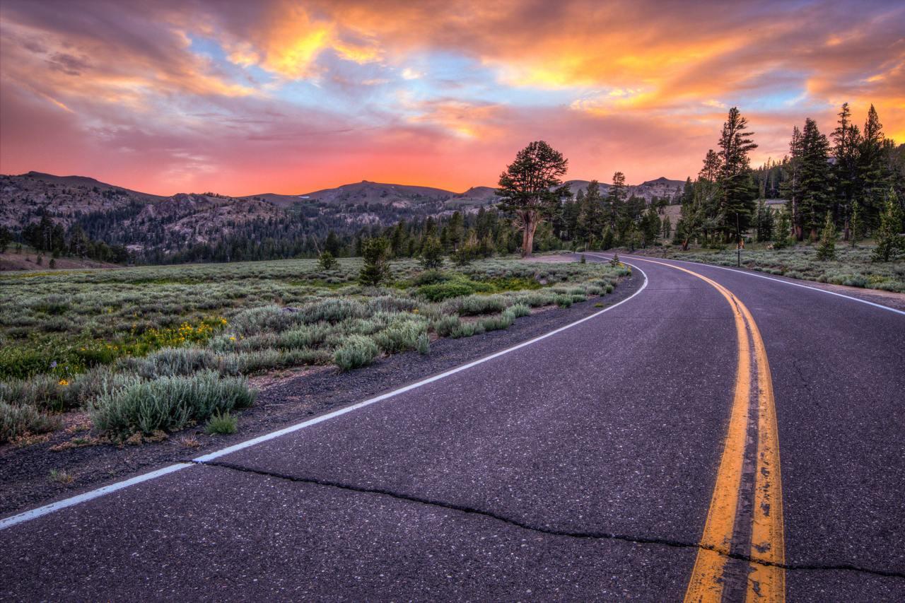 Sonora Pass Road