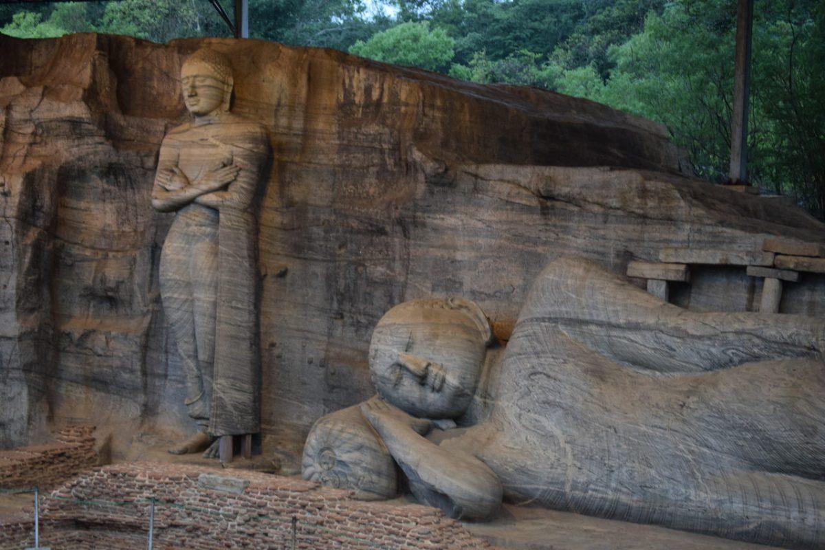 Sri Lanka Polonnaruwa Buddha lying