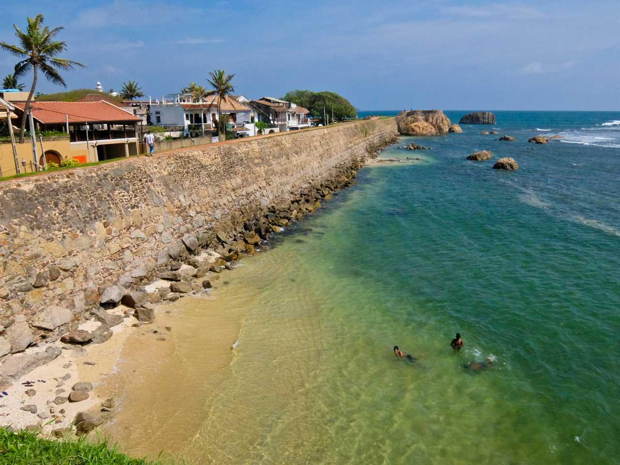 Sri Lanka road trip - Galle Ramparts