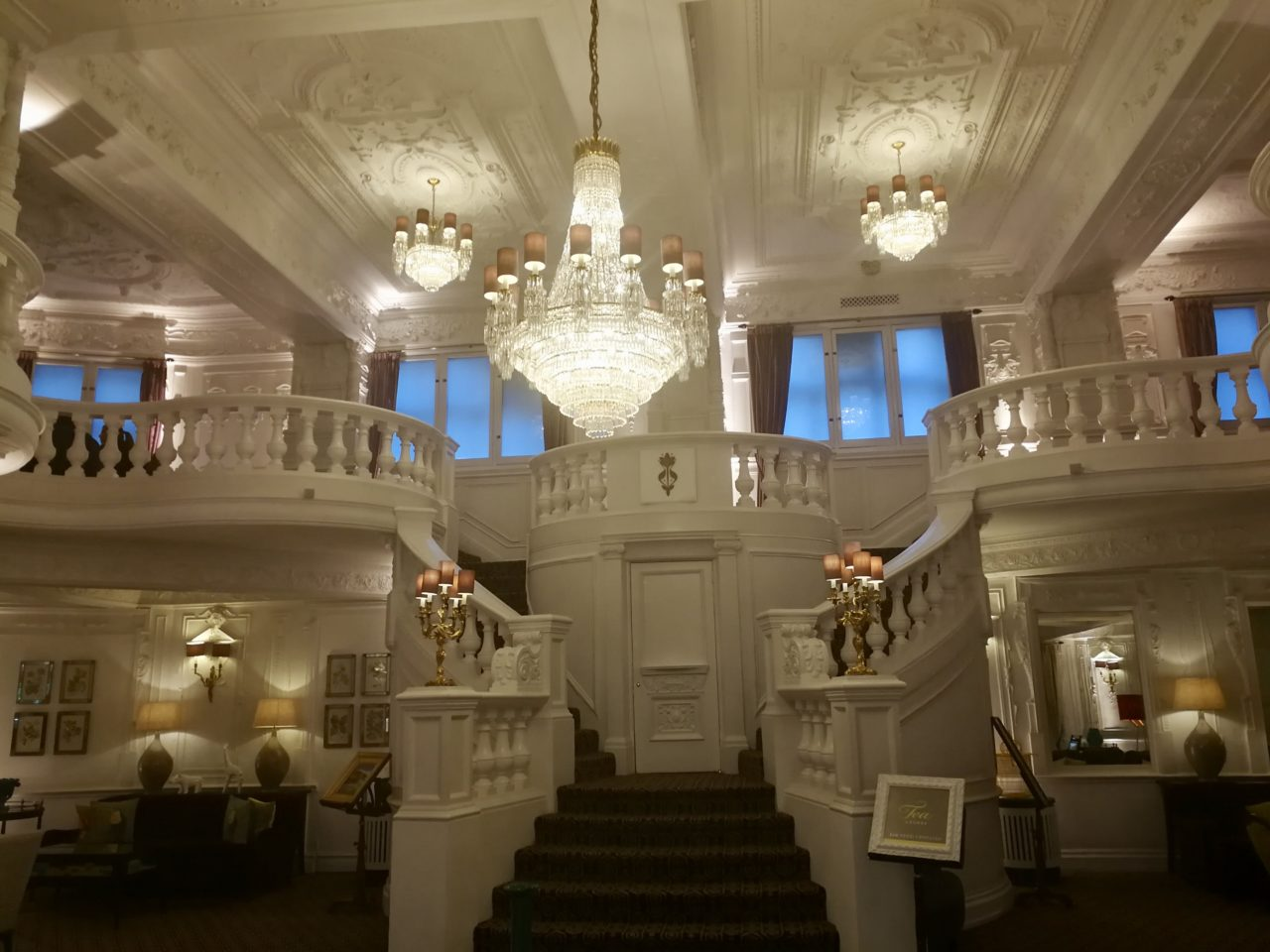 The Ornate Lobby at St Ermin's