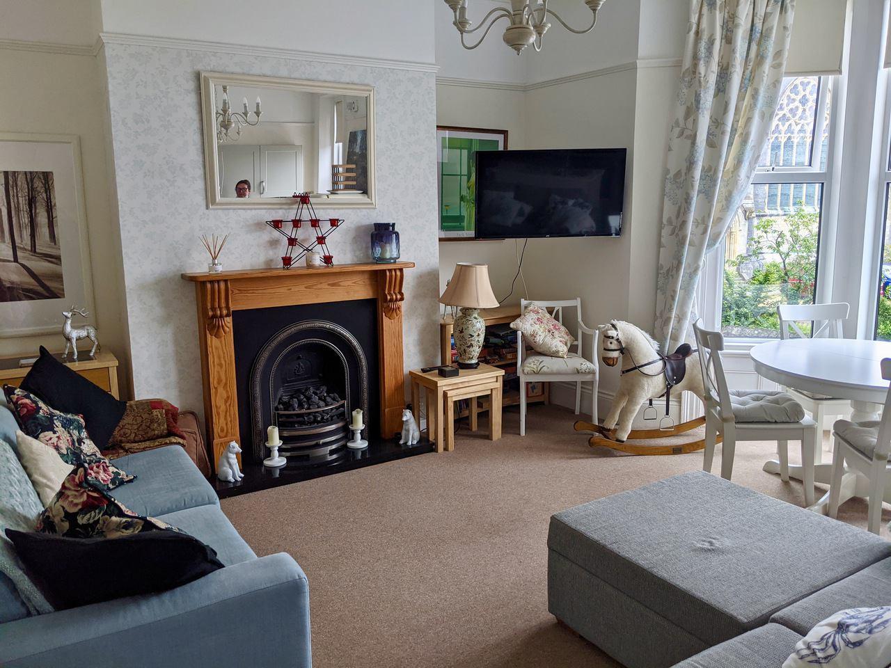 St John's Guest House Living Area