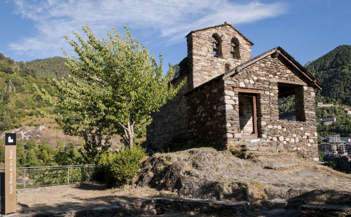 St Roma de les Bons Encamp church, Andorra