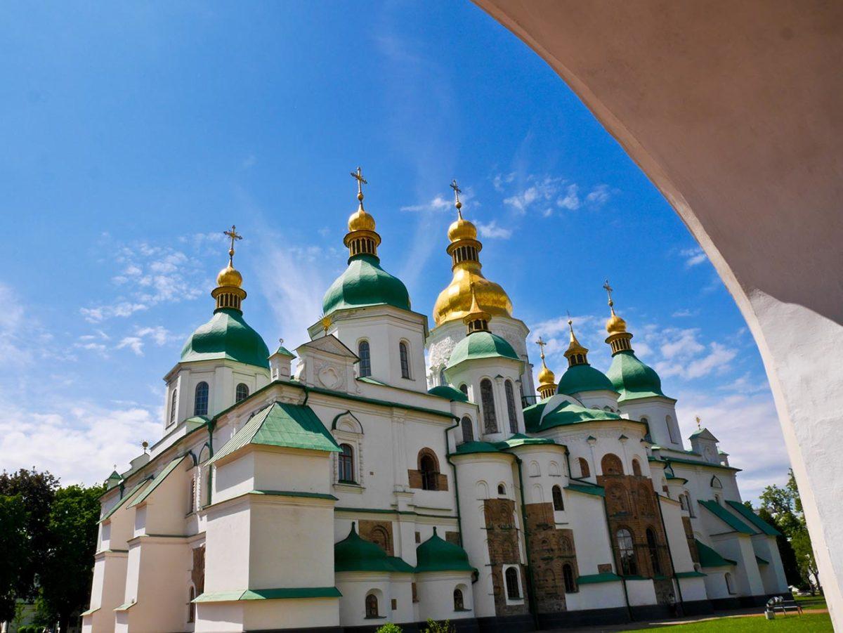 St Sophia, Kiev