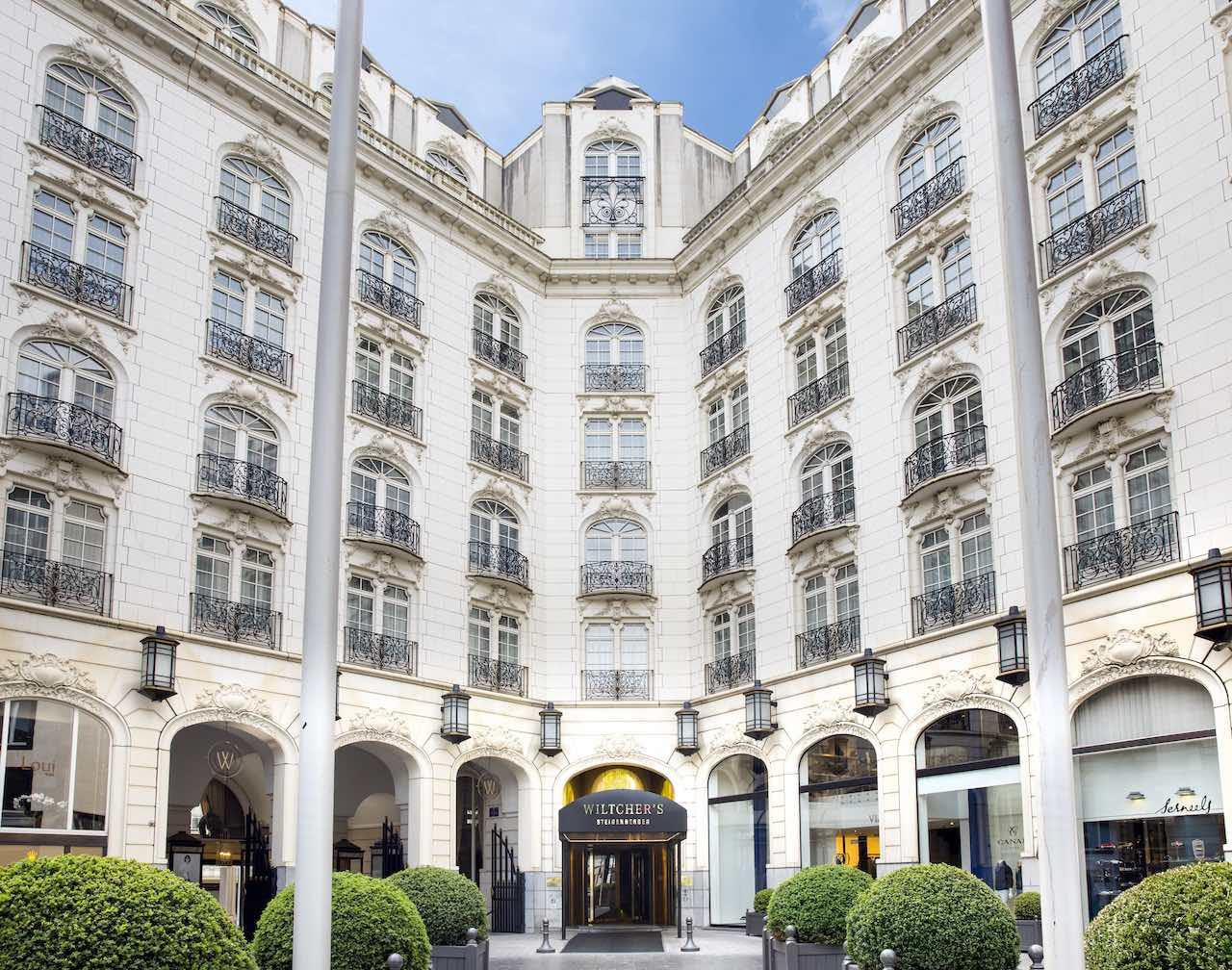 Steigenberger Wiltcher's, Brussels - Hotel entrance