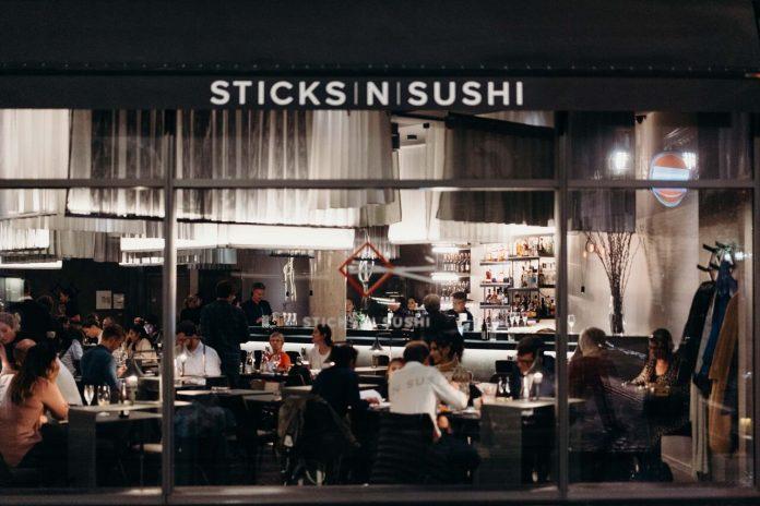 Sticks'n'Sushi Soho Exterior