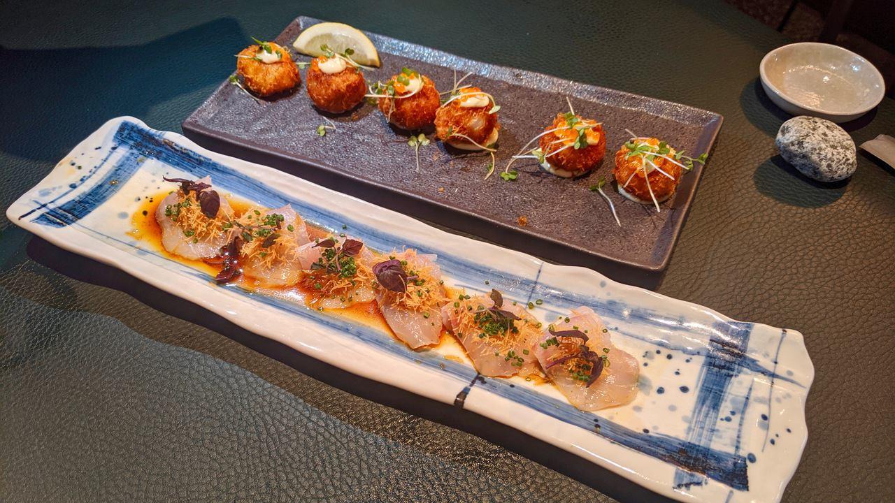 Sticks'n'Sushi starters