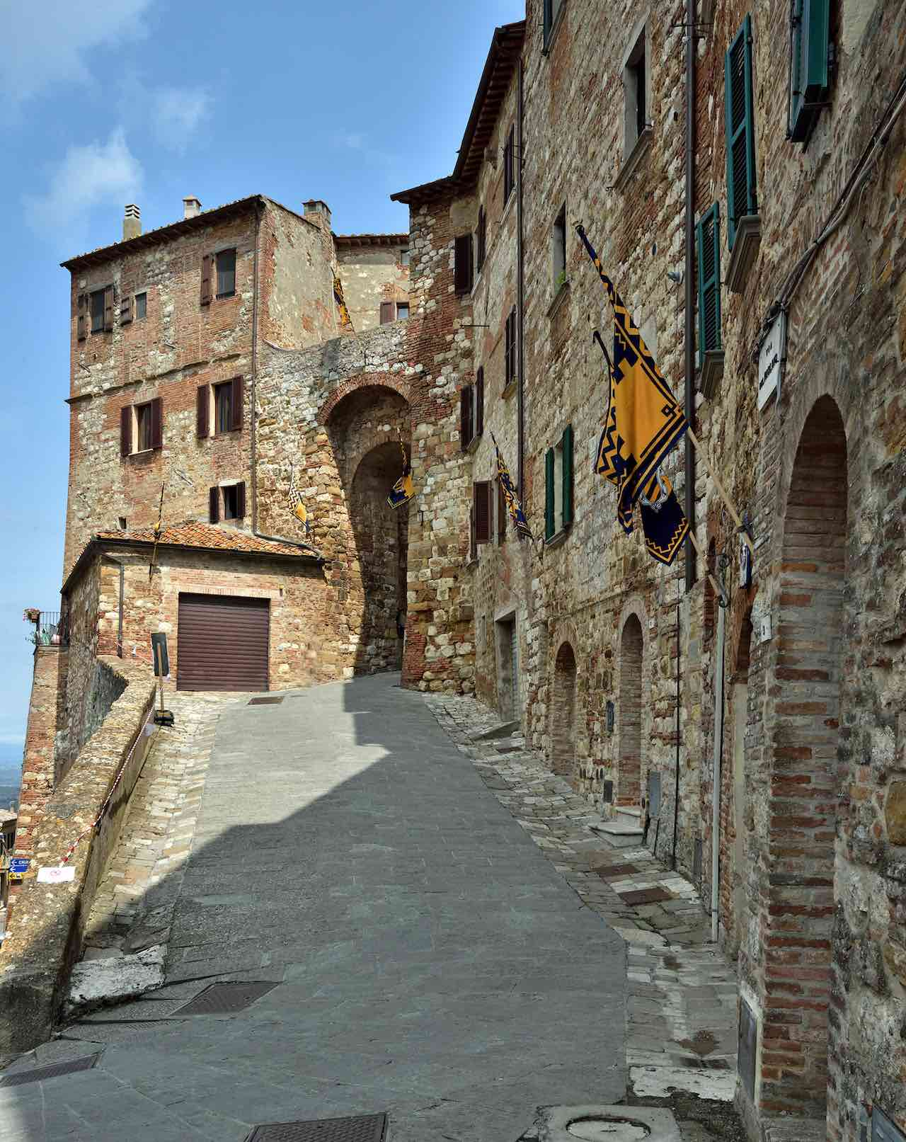 Streets of Montapulciano