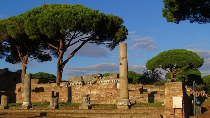StStunning site of ancient Ostia