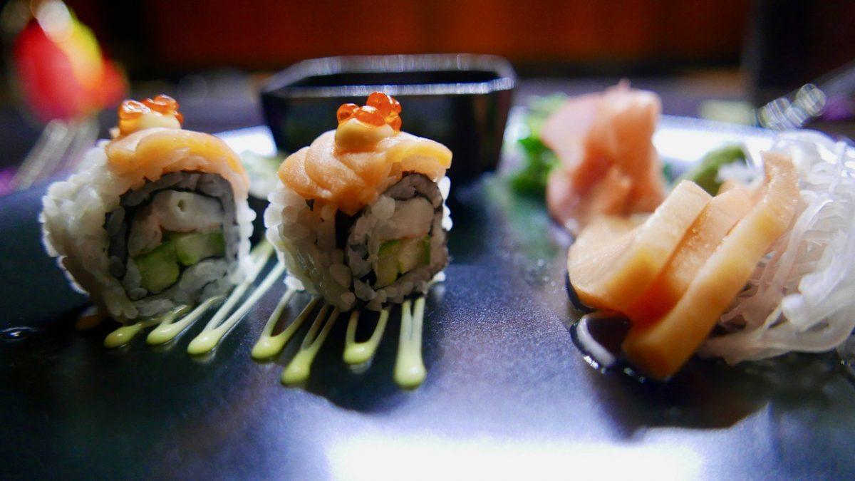 Sushi at Raiyvilla Furaveri