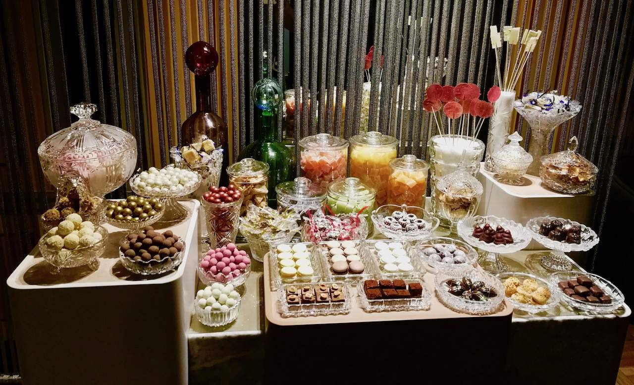 Sweet shop at Restaurant IGNIV
