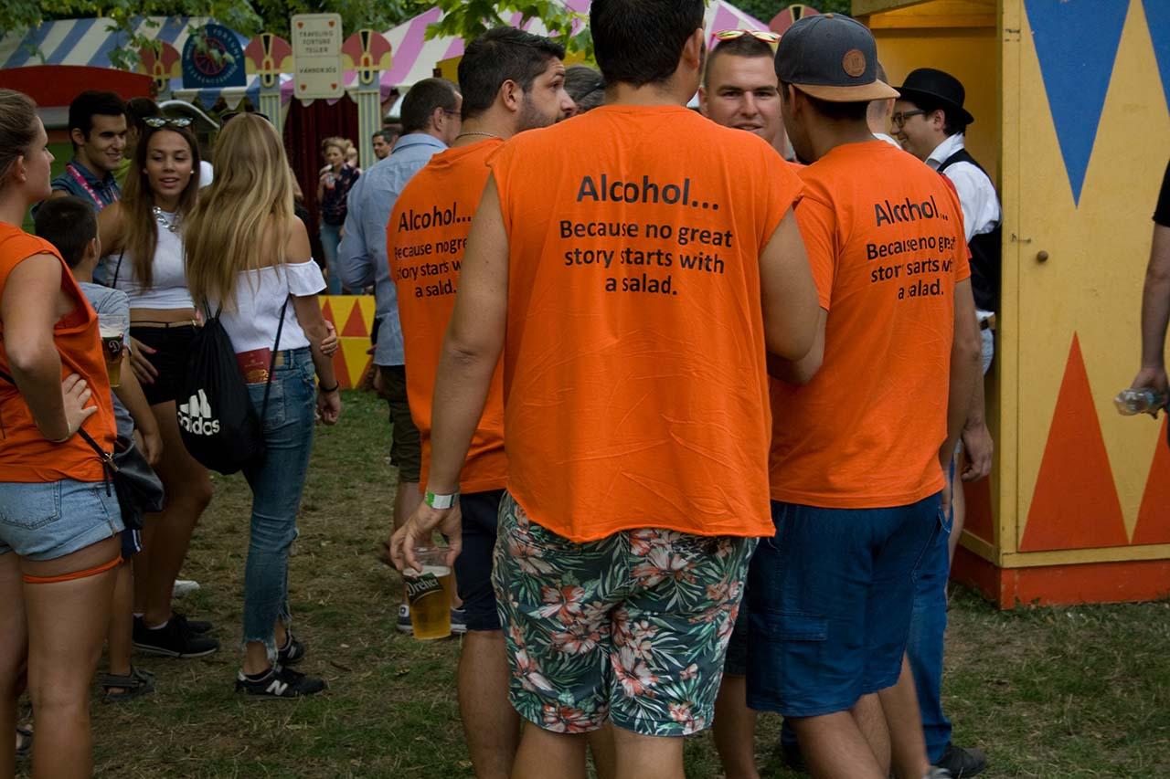 Sziget Beer Drinkers