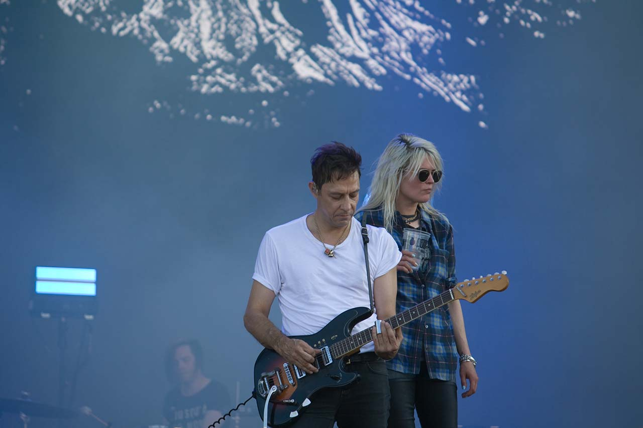 British-American indie rock band The Kills