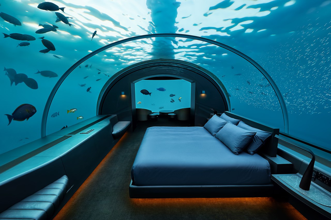 Undersea suite at The Muraka