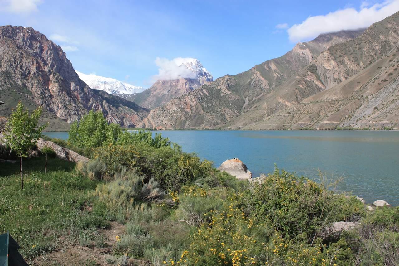 Tajikistan - lake
