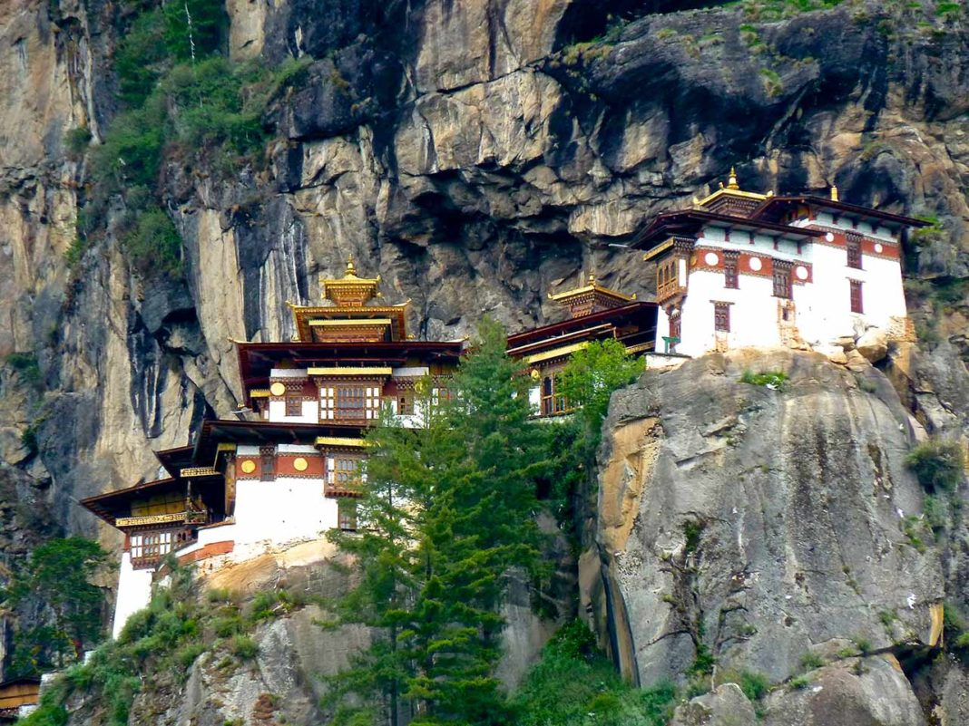Temples at Tiger's Nest